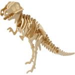 3D Puzzle, 33x8x23 cm, krydsfiner, dinosaur, 1 stk.