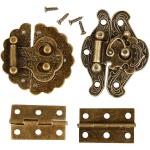 Mini beslag, 30-35 mm, antik guld, 30 ass.