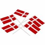 Lagkageflag, 100 stk.