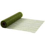 Bordløber, 30 cm, mørk grøn, net, 10 m