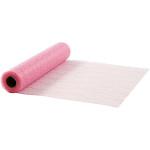 Bordløber, 30 cm, rosa, net, 10 m