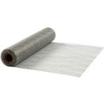 Bordløber, 30 cm, sølv, net, 10 m