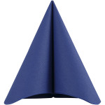 Servietter, stoflign, 40x40 cm, mørk blå, 20 stk.