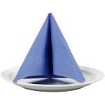 Servietter, 33x33 cm, lys blå, 20 stk.