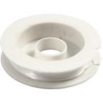 Elastisk smykketråd, 1 mm, flad, 10 m