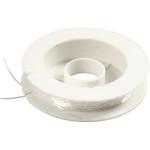 Elastisk smykketråd, 0,5 mm, rund, 10 m