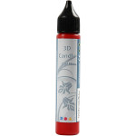 Lysvoks, rød, 25 ml