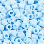 PhotoPearls, lys blå (28), 1100 stk. 5x5 mm.