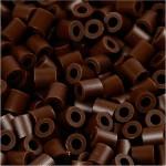 PhotoPearls, mørk brun (2), 6000 stk. 5x5 mm.
