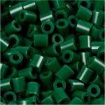 PhotoPearls, mørk grøn (9), 1100 stk. 5x5 mm.