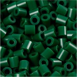 PhotoPearls, mørk grøn (9), 6000 stk. 5x5 mm.