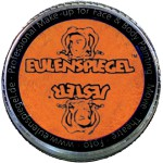 Eulenspiegel Ansigtsmaling, pearlised orange, 20 ml