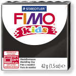 FIMO® Kids ler, sort, 42 g