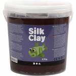 Silk Clay, brun, 650 g
