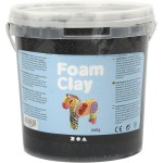 Foam Clay, sort, 560 g