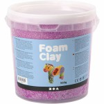 Foam Clay, lilla neon, 560 g