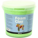 Foam Clay, grøn neon, 560 g