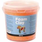 Foam Clay, orange neon, 560 g