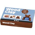 Wood clay, brun, 280 g