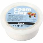 Foam Clay, hvid, 35 g