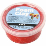 Foam Clay, rød, 35 g