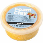 Foam Clay, gul, 35 g