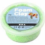 Foam Clay, grøn neon, 35 g