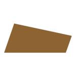 Mosgummi, 21x30 cm, kaffe, 10 ark