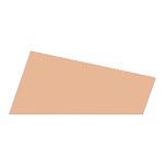 Mosgummi, 21x30 cm, creme, 10 ark