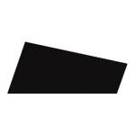 Mosgummi, 21x30 cm, sort, 10 ark