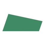 Mosgummi, 21x30 cm, mørk grøn, 10 ark