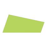 Mosgummi, 21x30 cm, lys grøn, 10 ark