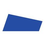 Mosgummi, 21x30 cm, mørk blå, 10 ark