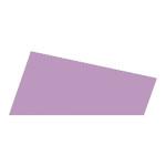 Mosgummi, 21x30 cm, lys lilla, 10 ark