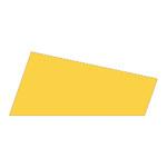 Mosgummi, 21x30 cm, gul, 10 ark