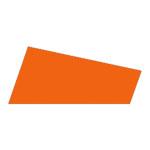 Mosgummi, 21x30 cm, orange, 10 ark