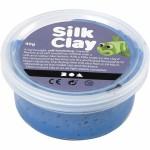 Silk Clay, blå, 40 g