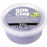 Silk Clay, lilla, 40 g