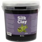 Silk Clay, sort, 650 g