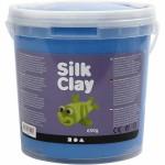 Silk Clay, blå, 650 g