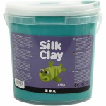 Silk Clay, grøn, 650 g
