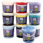 Silk Clay, ass. farver, 10x650 g