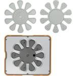 Fuse® - Design sæt, 10x12  cm, blomst, 1 stk.