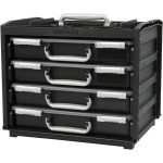 Handybox m. multicases, 37,6x26,5x31 cm, 1 sæt