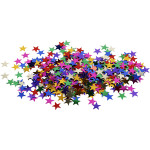 Stjernepailletter, 10 mm, 10 g