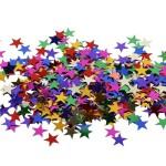 Stjernepailletter, 10 mm, 250 g