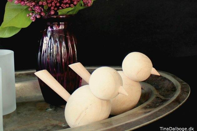 Billig træfugl fra Tina Dalbøges Kreahobshop