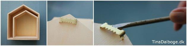 hvordan skruer og haenger man traekasser op paa vaeggen