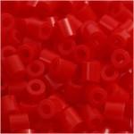 PhotoPearls, rød (19), 1100 stk. 5x5 mm.