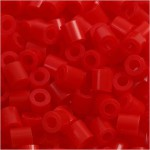 PhotoPearls, rød (19), 6000 stk. 5x5 mm.